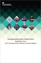 Transportation in the United States 2015 (Cover Page)
